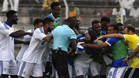 Gabon's football team