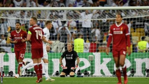 Goalkeeper Loris Karius made two terrible blunders as Liverpool lost Saturday's final to Real Madrid