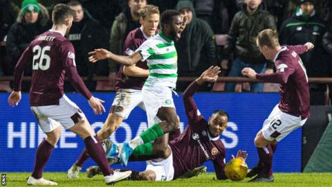 Hearts v Celtic
