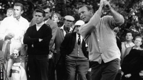 Arnold Palmer in 1964