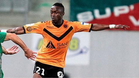 Guinea-Bissau captain Bocundji Ca