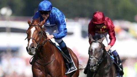 Coral-Eclipse: Roaring Lion beats Saxon Warrior after stewards inquiry at Sandown