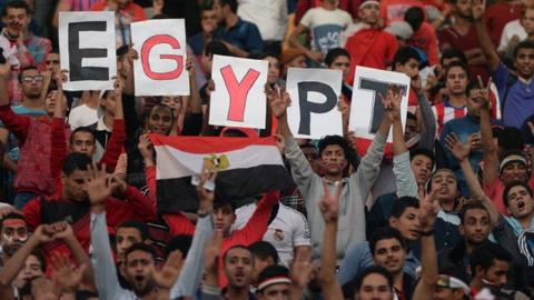 Egyptian fans will not get to see their teams play at the African Games