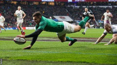 Sensational England humble Ireland in Six Nations clash