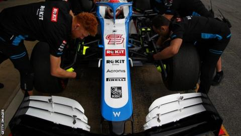 Williams F1 drivers take 20% pay cut during coronavirus enforced hiatus