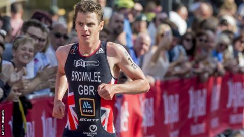 Jonny Brownlee pulled out of last year's Leeds event during the 10km run