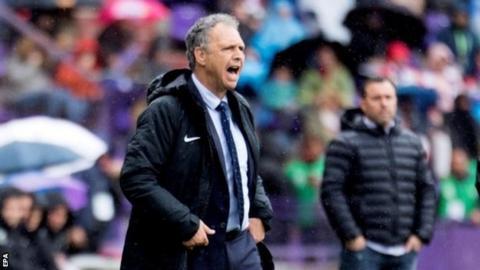 Sevilla manager Joaquin Caparros