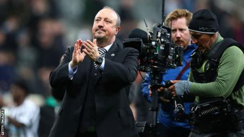 Rafael Benitez: Ex-Newcastle boss appointed manager of Chinese side Dalian Yifang