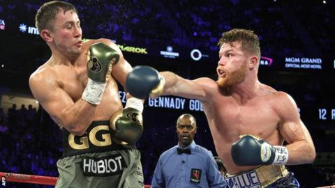 Golovkin and Alvarez set for rematch