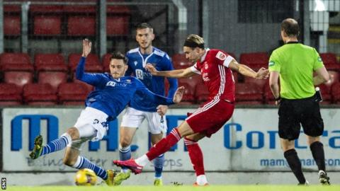 Substitute Ryan Hedges won it for Aberdeen late on