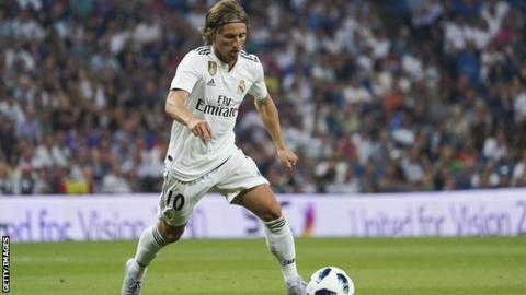 Real Madrid report Inter Milan to Federation Internationale de Football Association  over Luka Modric's pursuit