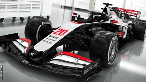 Haas F1 revert to old colors with auto that has to deliver