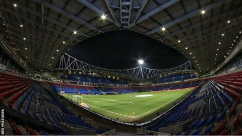 General view of Macron Stadium