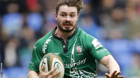 London Irish back Ben Ransom