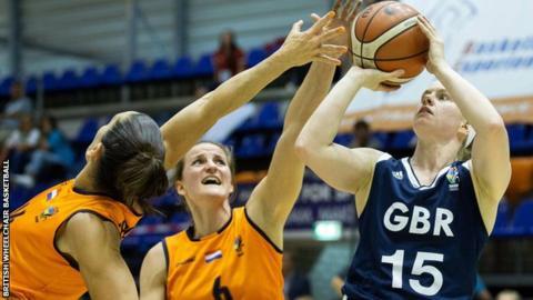 Great Britain women's wheelchair basketball