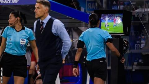 VAR in use at the Women's World Cup in France