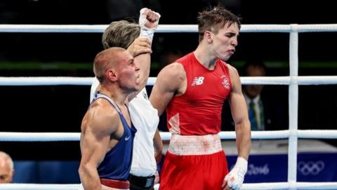 Michael Conlan: Belfast boxer to face Olympic rival Nikitin in New York