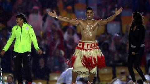 Tongas Olympic flagbearer Pita Taufatofua qualifies for