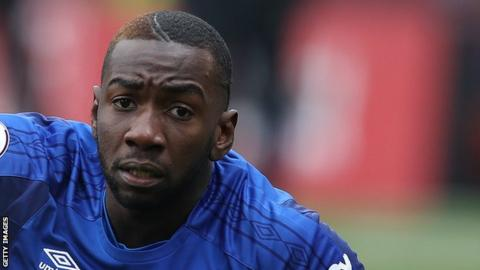 Yannick Bolasie's most recent game for Everton came in their 3-1 defeat by West Ham in May 2018