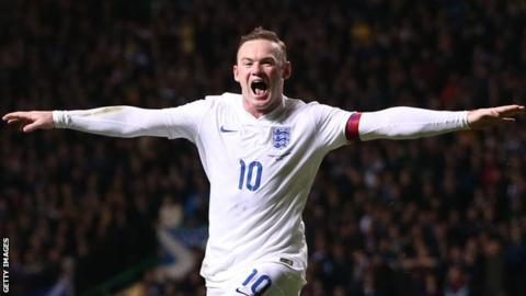 The moment Wayne Rooney embraced a pitch invader in final England cap