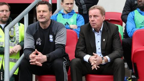 Paul Groves and Harry Redknapp