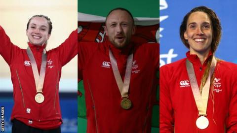 Elinor Barker, Gareth Evans, Alys Thomas