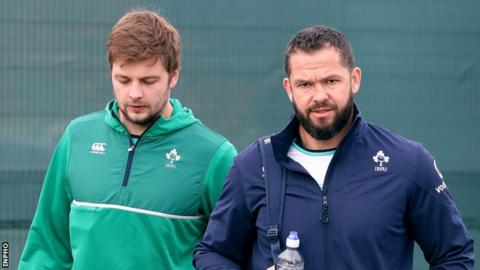 Henderson says the appointment of Andy Farrell as head coach has ushered in a new mentality in the Ireland camp