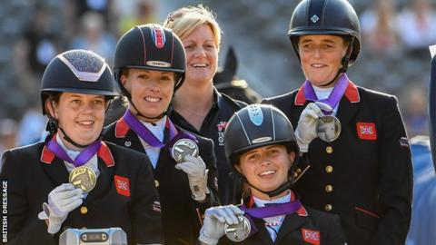 European Para-dressage Championships: Great Britain claim silver in Rotterdam