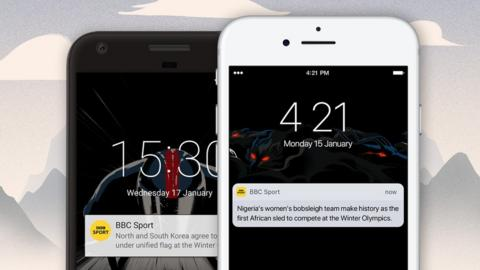 The BBC Sport app will deliver breaking news and medal alerts from the Winter Olympics direct to your phone