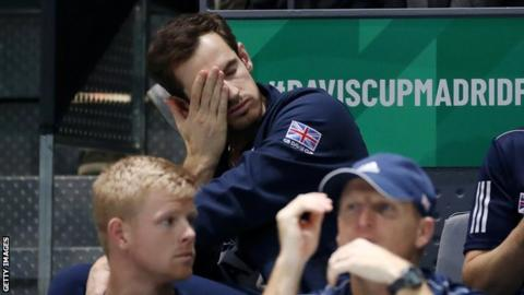 Davis Cup: Andy Murray doubtful for Britain`s clash against Spain