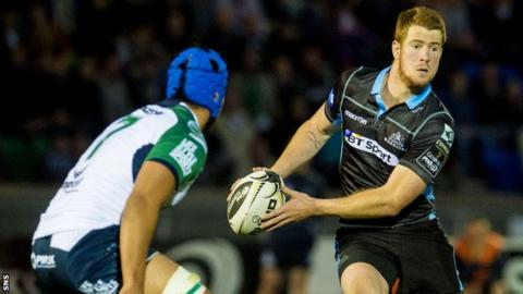 Glasgow Warriors fly-half Rory Clegg
