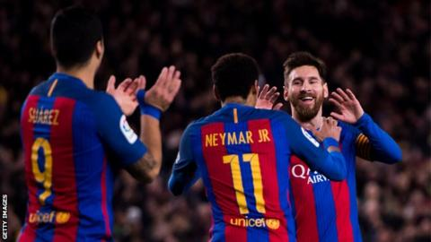 Barcelona v Paris St-Germain: Spanish champions have 'indestructible faith'
