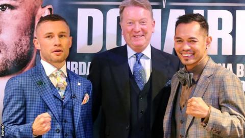 Carl Frampton and Frank Warren reveal I'm A Celeb offers