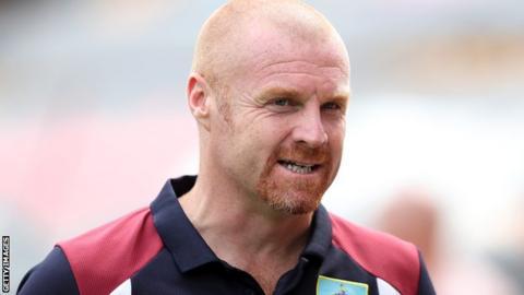 Sean Dyche of Burnley