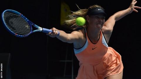 Sharapova is a five-time Grand Slam champion