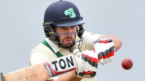 Andrew Balbirnie made his 95 from 105 balls to help Ireland to a second win in Pretoria
