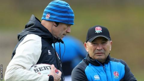 John Mitchell: England defence coach extends contract until 2021