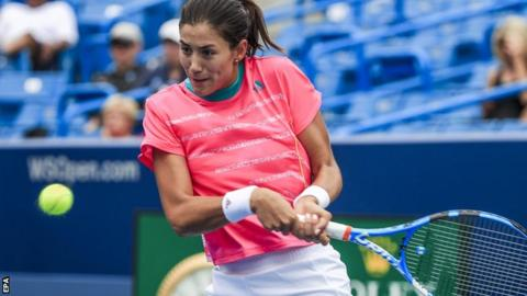 Defending champion Muguruza out of Cincinnati Masters