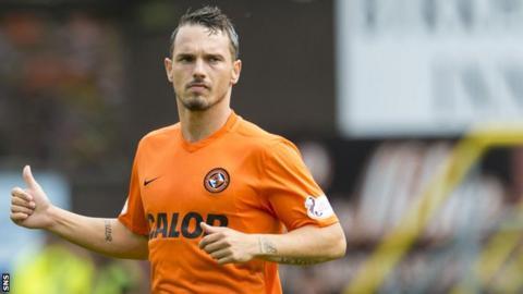 Dundee United midfielder Rodney Sneijder