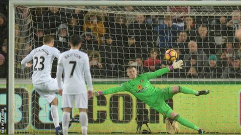 Sigurdsson scores for Swansea