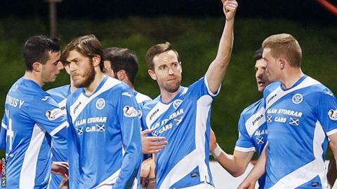 St Johnstone striker Steven MacLean (centre) has been at St Johnstone since the summer of 2012