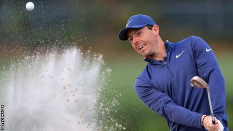 McIlroy produced 10 pars in a row before beginning to drop shots