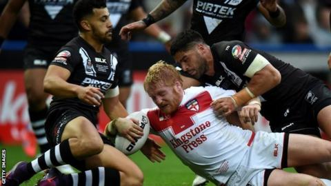 James Graham in action against New Zealand