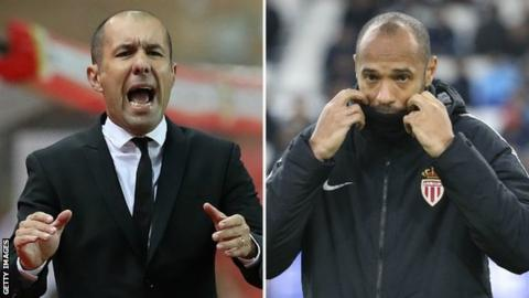 Jardim (left) has been re-appointed after Henry's sacking