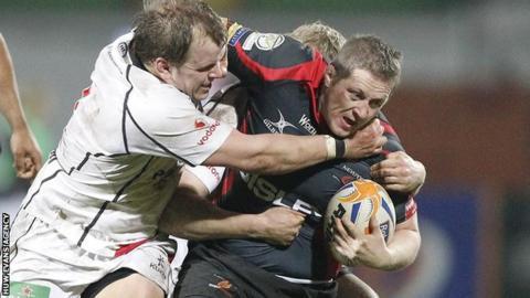 Steve Jones in action for the Dragons
