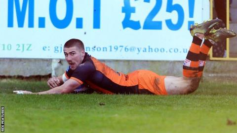 Castleford's Greg Minikin scored the opening try