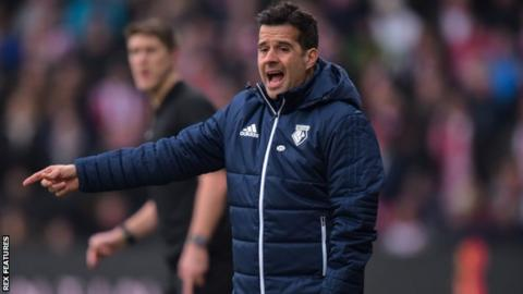 Derby City manager Marco Silva