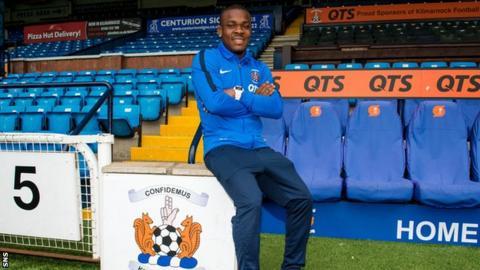 Kilmarnock striker Souleymane Coulibaly