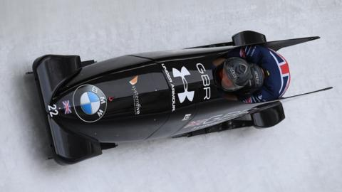 GB two man bobsleigh