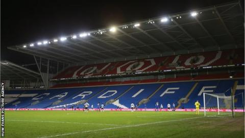Cardiff City Stadium's Ninian Stand